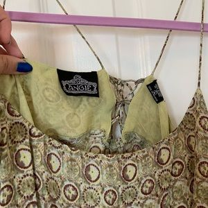 Angie Dresses - Angie🌸vintage🌸boho Green Midi dress🌼size large